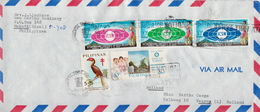 Postal History Cover: Philippines Cover With Several Stamps And Full Set - Philippines