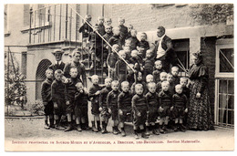 Berchem Sainte Agathe Institut Provincial Sourds Muets Aveugles SECTION MATERNELLE Groupe élèves - Ed. STERN - St-Agatha-Berchem - Berchem-Ste-Agathe