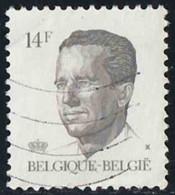 Belgique 1990 Yv. N°2352 - 14F Sépia - Oblitéré - 1981-1990 Velghe