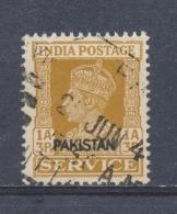 Pakistan 1947 Mi: DM 5 Yt: TS 5 (Gebr/used/obl/o)(3828) - Pakistan