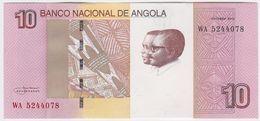 Angola NEW - 10 Kwanzas Oct 2012 ( 2017 ) - UNC - Angola