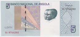 Angola NEW - 5 Kwanzas Oct 2012 ( 2017 ) - UNC - Angola