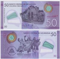 Nicaragua NEW - 50 Cordobas 2014 POLYMER - UNC - Nicaragua
