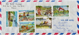 Postal History Cover: Philippines Cover With Tourism Stamps - Philippines