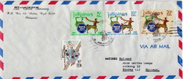 Postal History Cover: Philippines Cover With Full Set - Philippines