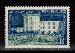 1954 YV 995 N** Villandry Cote 6 Eur - France