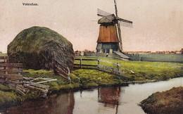 AK Volendam - Windmühle - 1917 (36913) - Volendam