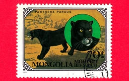 MONGOLIA - Usato - 1979 - Gatti Selvatici - Leopard (Panthera Pardus) - 70 - Mongolia