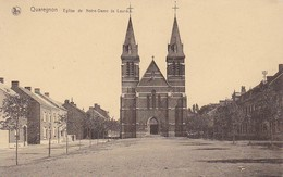 CPA Quaregnon - Eglise De Notre-Dame De Lourdes (36914) - Quaregnon