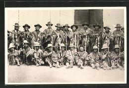 AK Cuzco, Autoridades Indigenas, Indio-Führer In Tracht - Peru