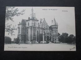 CP BELGIQUE (M1818) SCHOOTEN SCHOTEN (2 VUES) Chateau De Wyngaard - Schoten