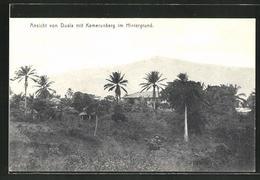 CPA Duala,  Vue De Von Duala Avec Kamerunberg Im Hintergrund - Camerún
