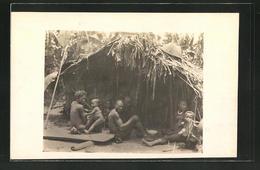 Photo-CPA Süd-Kamerun, Makkas Vor Einer Pêcheurhütte Am Njong - Cameroon