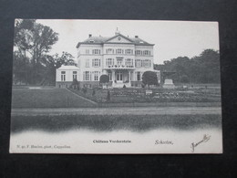 CP BELGIQUE (M1818) SCHOOTEN SCHOTEN (2 VUES) Chateau Vorderstein - Schoten