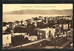 AK Beyrouth, Rue Graham Et Panorama De Minet-Husne - Libanon
