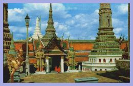 CPSM Couleurs - Bangkok (Thailand) - 291. Inside The Ground Of Wat Phra Keo (Emerald Buddha Temple) - Thaïlande