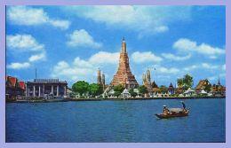 CPSM Couleurs - Bangkok (Thailand) - 92. Wat Aroon - Temple Of Dawn - Thailand