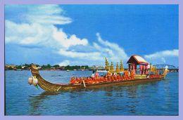 CPSM Couleurs - Bangkok (Thailand) - 95. The Aneckchatbhuchong Barge - Thailand