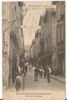 9574. VILLEFRANCHE DE ROUERGUE 12. RUE DE LORRAINE. ANIMEE 1904 - Villefranche De Rouergue