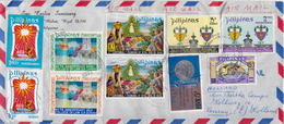 Postal History Cover: Philippines Cover With Full Sets - Philippines