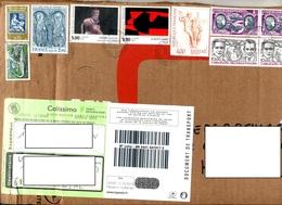 Devant De Paquet Cachet Le Passage Sur Bel Affranchissement - Postmark Collection (Covers)