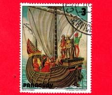 PARAGUAY - Usato - 1979 - Dipinti Di Barche A Vela - Navi - Velieri - Sailing Ship - 3 - Paraguay