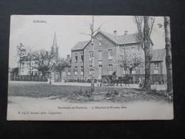 CP BELGIQUE (M1818) SCHOOTEN SCHOTEN (2 VUES) Gasthuis En Pastorij - L'hôpital Et Presbytère - Schoten
