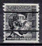 USA Precancel Vorausentwertung Preo, Bureau Washington, Seattle 1303-71 - Vereinigte Staaten