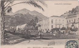 V : Alpes-Maritime : MENTON : Jardin Public édition Giletta - Menton