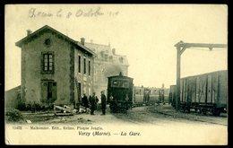 Cpa Du 51 Verzy La Gare   SEPT18-39 - Verzy