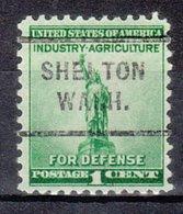 USA Precancel Vorausentwertung Preo, Locals Washington, Shelton 712 - Vereinigte Staaten