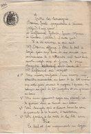 VP13.126 - CHANTELLE - Acte De 1896 - Entre Mrs CHEVRIER & LAFLEURIEL Bail D'une Maison Située à VAUSSAC - Manuscrits