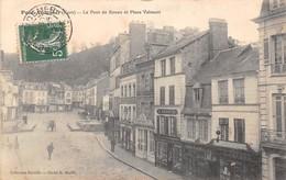 PONT AUDEMER - Le Pont De Rouen Et Place Valmont - Pont Audemer