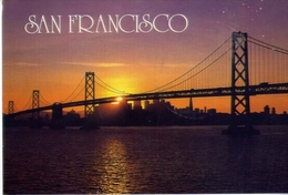 San Francisco - Oakland Bay Bridge - Formato Grande Viaggiata – E 7 - San Francisco
