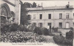 Cp , 49 , SAUMUR , Maison De Pensionnaire Te-Anne De Nantilly - Saumur