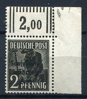 G017) SBZ # 182 WOR Postfrisch Aus 1948, 500.- € - Sowjetische Zone (SBZ)