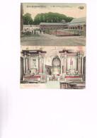 BOIS-SEIGNEUR-ISAAC : 2 Cartes Couleurs Marcovici De L'abbaye Dont Une Avec Vieille Voiture. 1921 - Sonstige