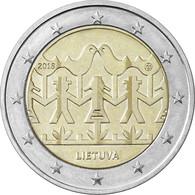 Pièce De 2 Euros Commémorative Lituanie 2018 : 100 Ans De La Fête De La Chanson Et De La Danse - Lituania