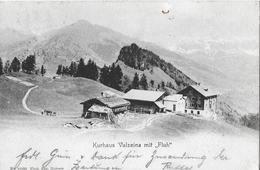 """VALZEINA → Kurhaus Mit """"Fluh""""   ►Balkenstempel VALZEINA◄ - GR Grisons"""
