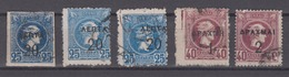 Greece 1900 - Hermes Head Surcharged Different Perforations - 1900-01 Overprints On Hermes Heads & Olympics