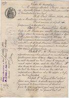 VP13.129 - Acte De 1902 - Entre Vve GARDE & PASEOU Peintre Bail De Deux Magasins Situés à MONTPELLIER - Manuscrits