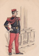 UNIFORMOLOGIE / L'H. PARIS  / 25 / ECOLE NORMALE DE GYMNASTIQUE ET D ESCRIME DE JOINVILLE / NON DIVISEE - Uniformi