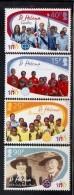 2010 Saint Helena Girl Guides Complete Set Of 4 MNH - Saint Helena Island