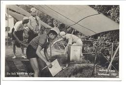 """SCOUT Jamboree 1937  """"Indisch Kamp""""  With Corresponding Stamps - Scouting"""