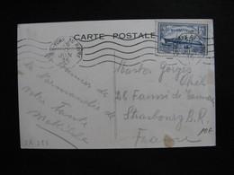 S/L 323 - TB C.P. Affranchie Avec N°299 ;  De Le Havre Pour New York Par Le Normandie ( 26/06/1935) - Marcophilie (Lettres)