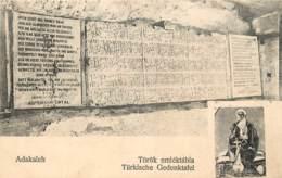 ROUMANIE  ADAKALEH TÖRÖK EMLEKTABLA TURKISCHE GEDENKTAFEL - Rumänien
