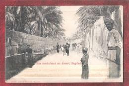 "IRAQ - ATTENTION """"CARD NEEDS REGLUEING !!! Rue Conduisant Au Désert, BAGDAD USED ENGLISH STAMP - Iraq"