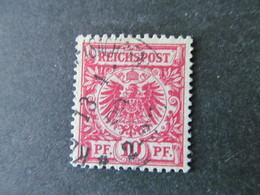 DR Nr. 47db, 1889, Gestempelt, BPP Geprüft BS - Gebraucht