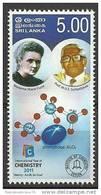 Chimie - Chemistry - Curie - Minéraux - Minerals - Saphir - Sapphire - Sri Lanka 2011 - Neuf **. - Minerali