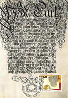 Liechtenstein 1994: Zu 1023 Mi 1081 Yv 1022 Urkunde Von 1719 Im Namen Von Kaiser Karl VI (aus MK-Set 123) - Langues